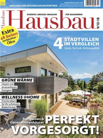 Hausbau 9 10 2018 By Fachschriften Verlag Issuu