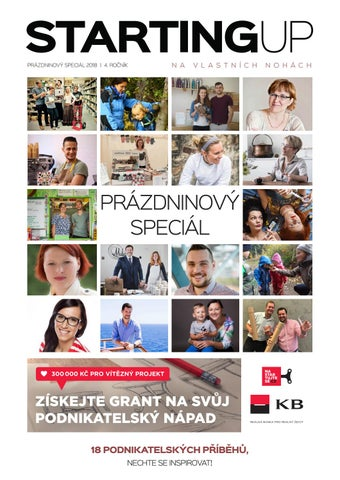 58ade3d5ddd Starting UP 08 2018 - Prázdninový speciál by Starting Up - issuu