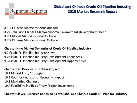 Crude Oil Pipeline Market Trends and Forecasts 2023 in-depth Global