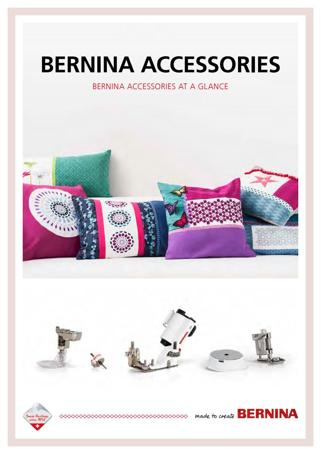 Large Universal Bobbin Box case for BERNINA Holds 25 Embroidery