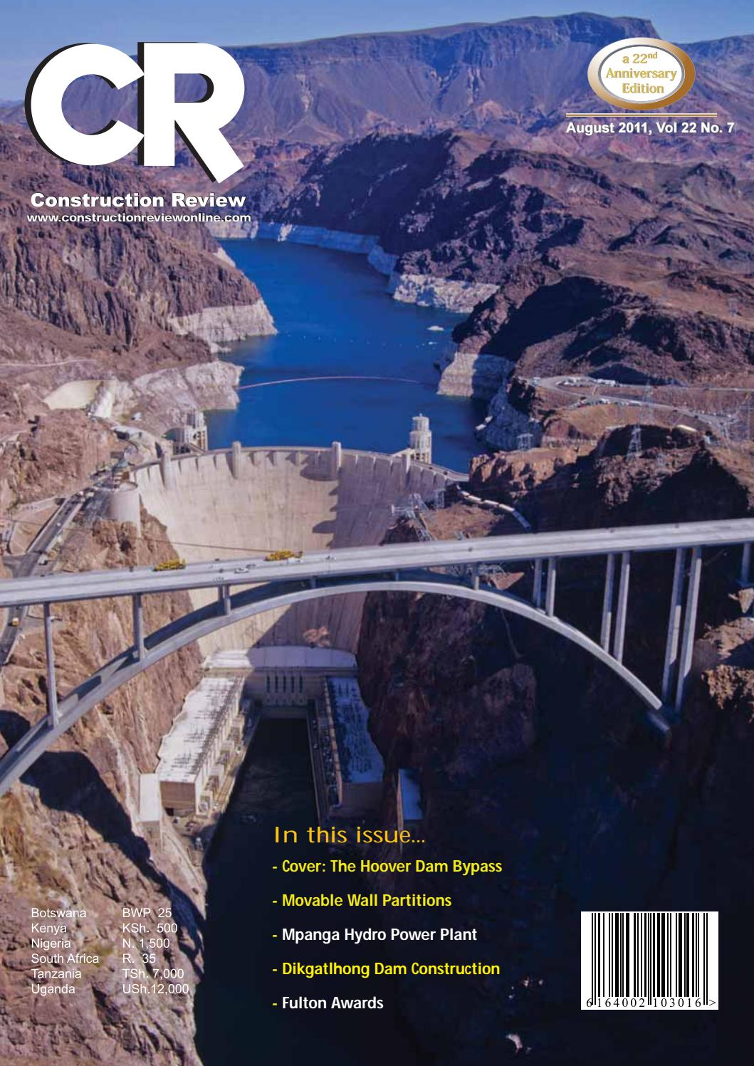 Construction Review Africa By Issuu Hoover Dam Power Plant Diagram