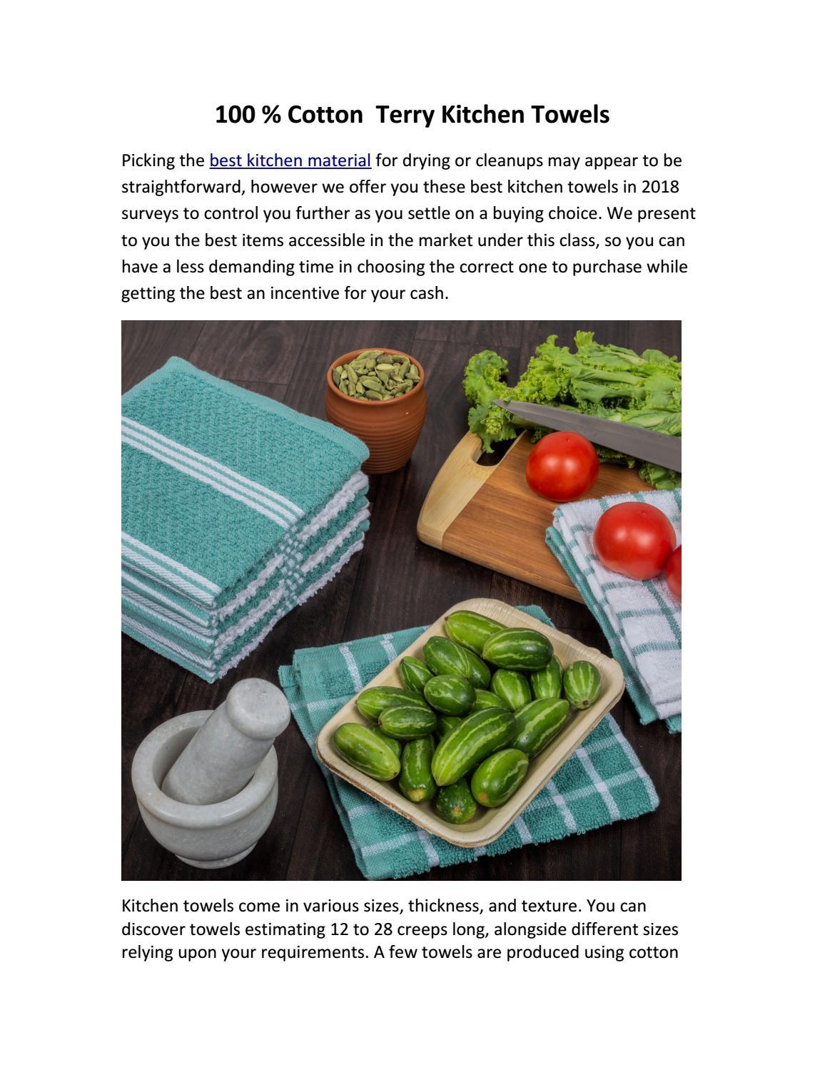Terry Kitchen Towels Online Usa By Info Gsmplusamericas Issuu