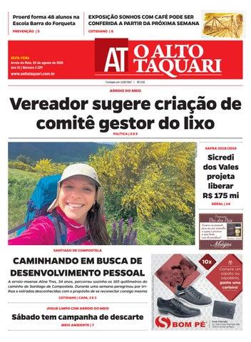 Jornal O Alto Taquari - 03 de agosto de 2018 by Jornal O Alto ... 4f624fc89a