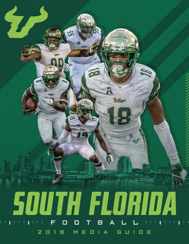 2018 USF Football Media Guide by USF Bulls - issuu 4e350079e