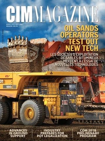 aca73716a9a0 CIM Magazine August 2018 by CIM-ICM Publications - issuu