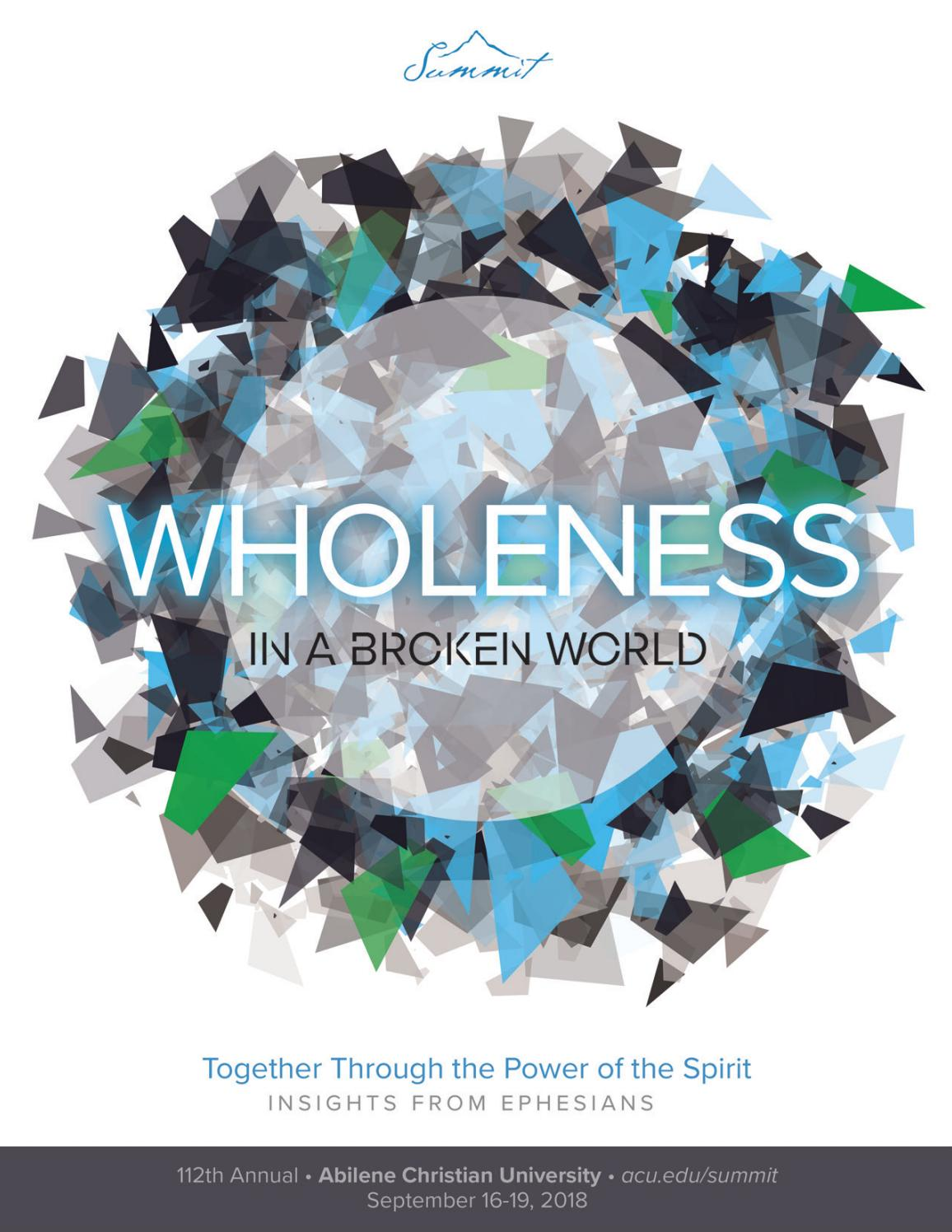 My Life for His Glory Living Wholly in a Broken World : Living Wholly in a Broken World