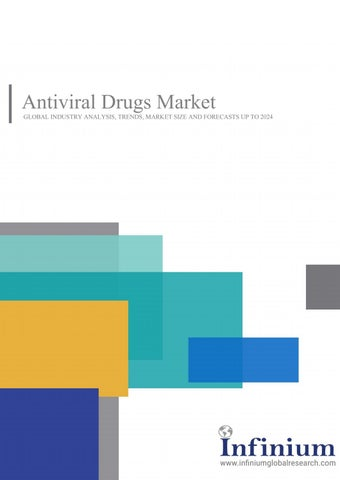 Antiviral Drugs Market: Product Intelligence Study 2024 by