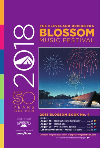 2018 Blossom Music Festival Book 4 By Live Publishing Issuu