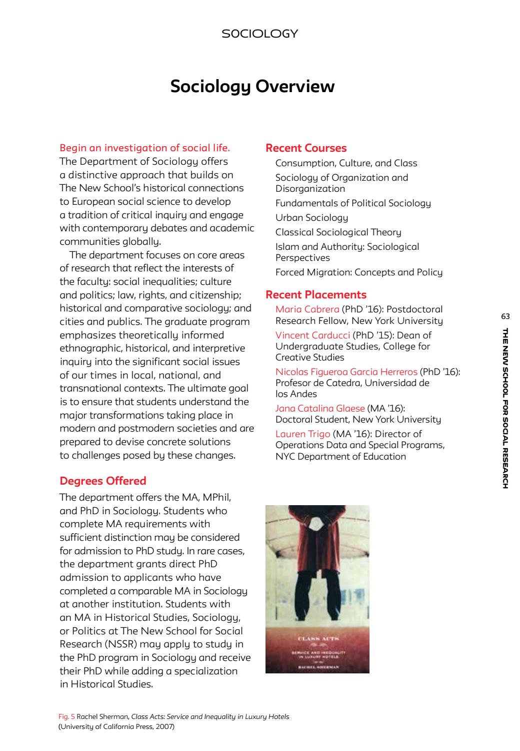 The New School for Social Research by The New School - issuu