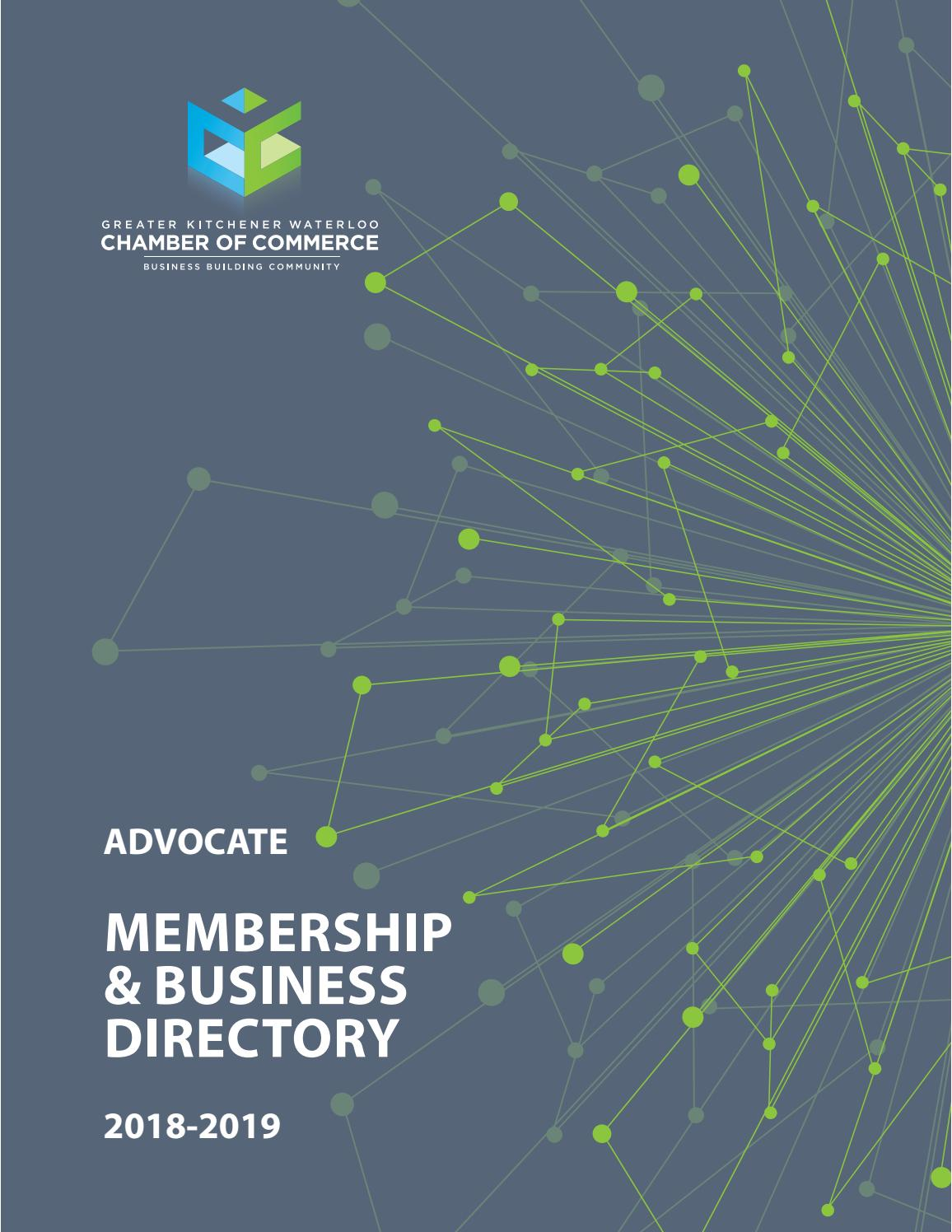 Membership and Business Directory 2018-2019 by Natalie
