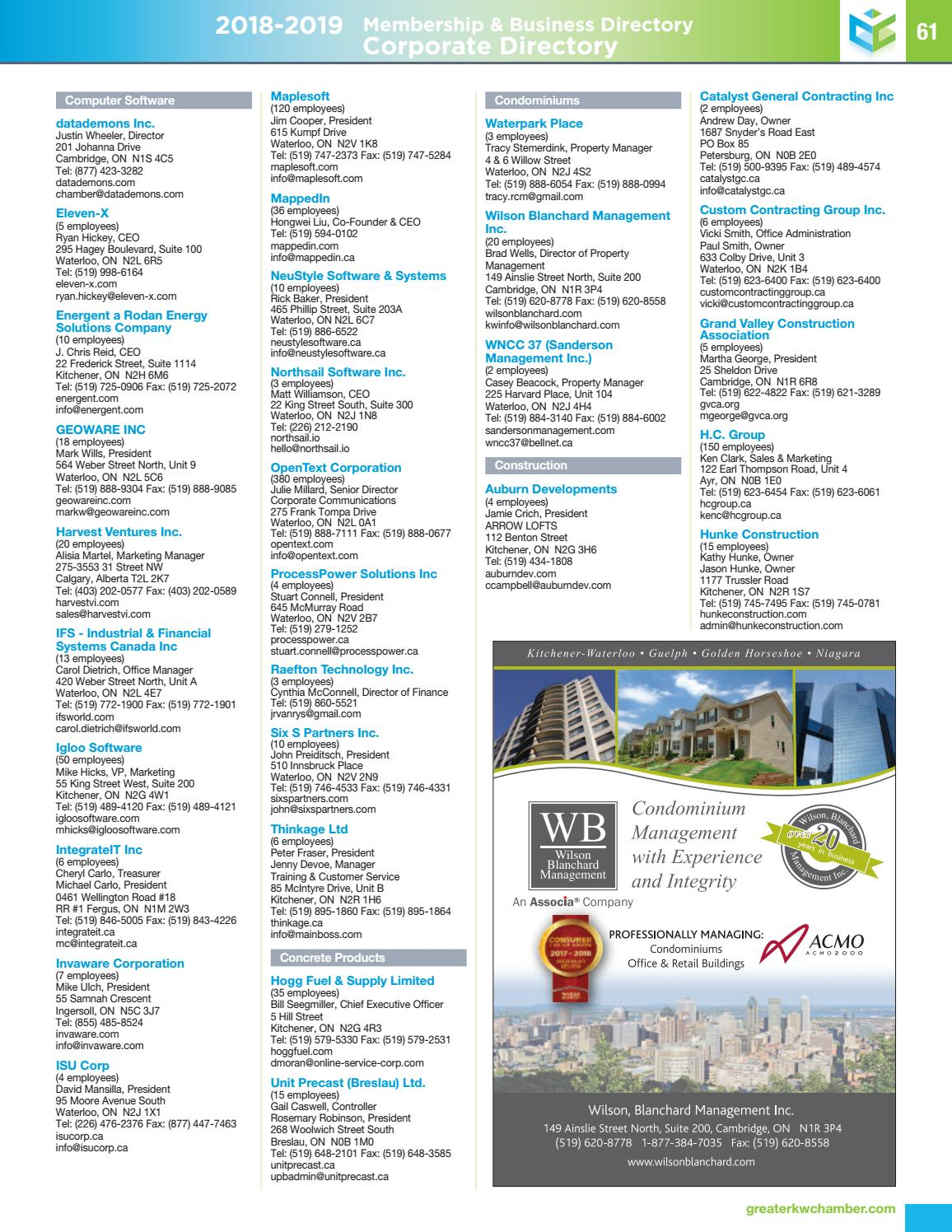 Membership and Business Directory 2018-2019 by Natalie Hemmerich - issuu