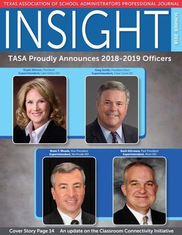 INSIGHT—Summer 2018 by Texas Association of School Administrators