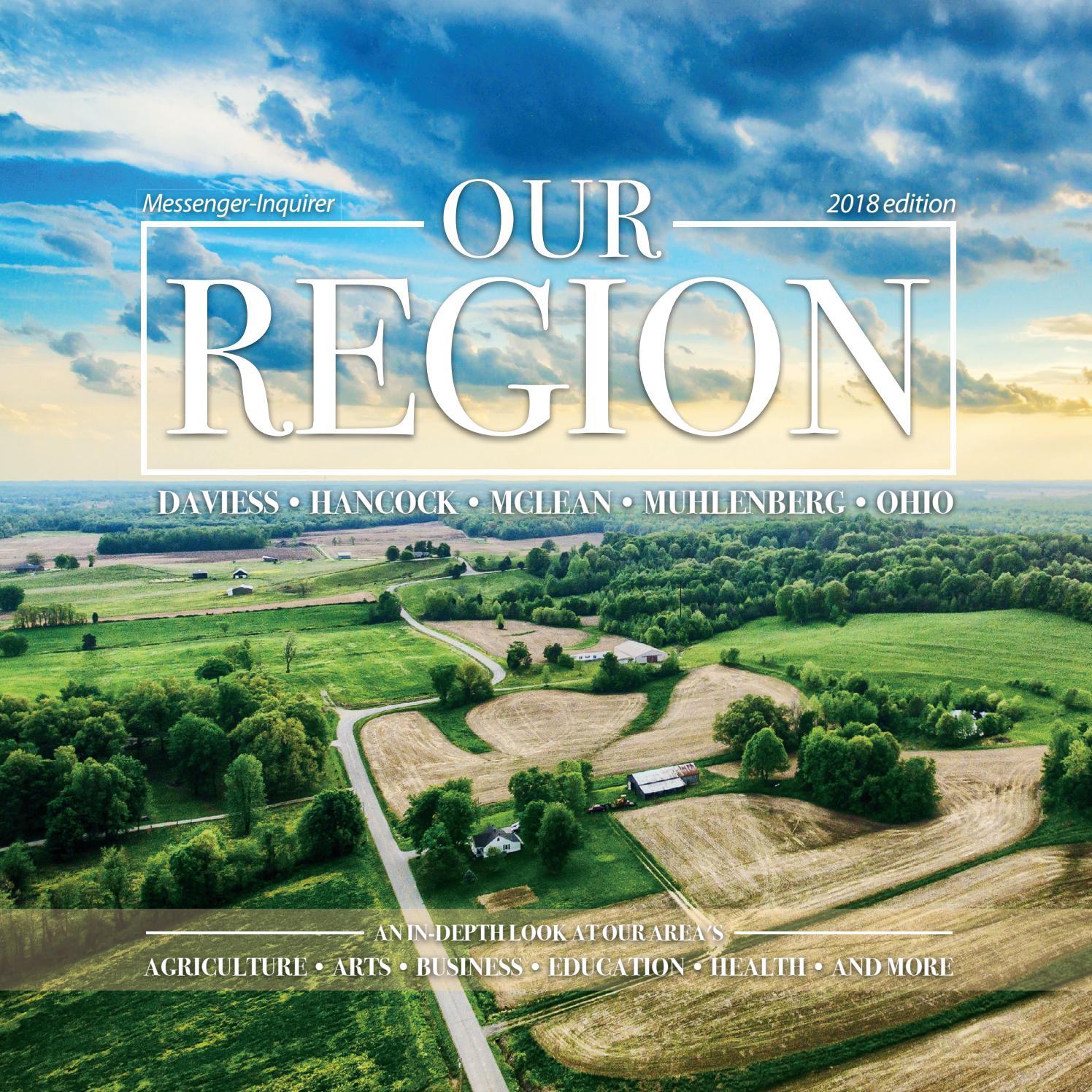 Our Region, 2018 edition