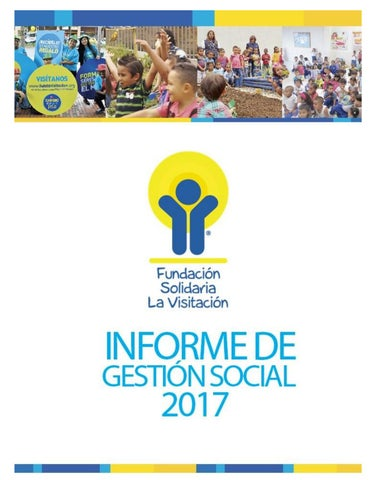 cf9887274 Informes de gestión – Fundación Solidaria la Visitación