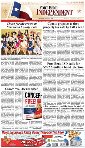Fort Bend Independent 081518 by Fort Bend Independent - issuu
