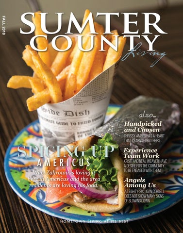Sumter County Living Magazine Fall 2018 By With You In