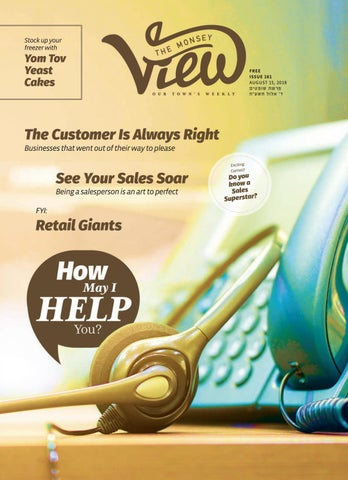 Issue 161 By The Monsey View Issuu