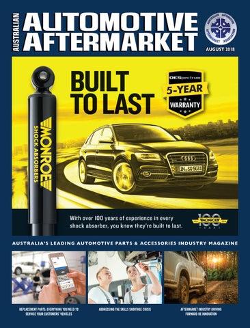 Australian Automotive Aftermarket eMagazine - August 2018 by aaaa710