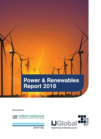 Ijglobal Power And Renewables Report 2018 By Dnv Gl Issuu