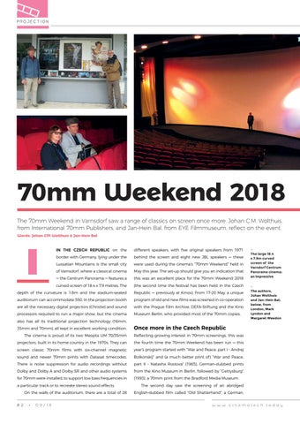 Page 82 of 70mm Weekend 2018 Varnsdorf