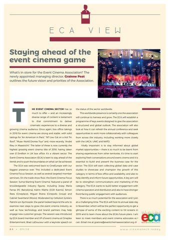 Page 84 of Staying ahead of the event cinema game