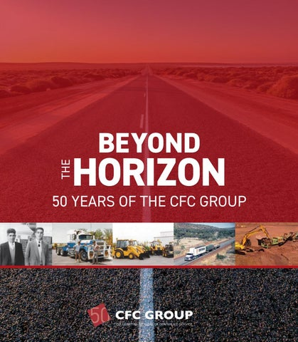 4bb4070da Beyond The Horizon  50 Years of the CFC Group by Premium Publishers ...
