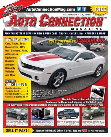 08-23-18 Auto Connection Magazine by Auto Locator and Auto
