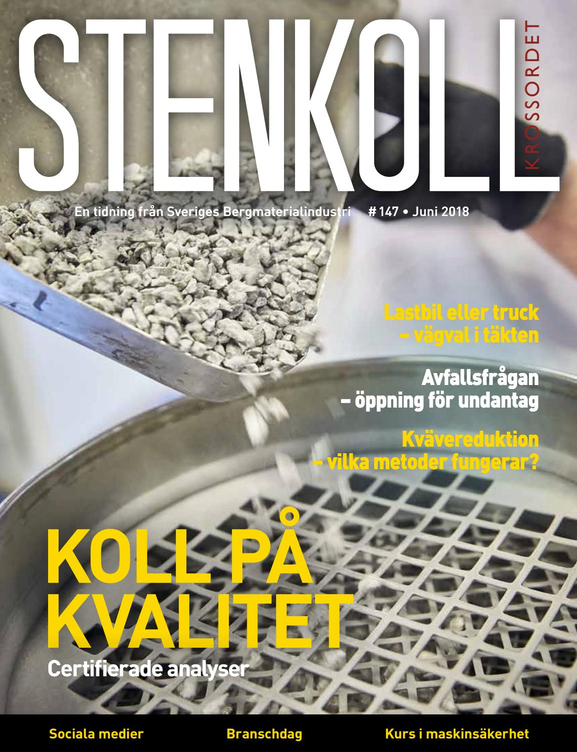 Stenkoll  147 by Sveriges Bergmaterialindustri 866ee0255e9a3