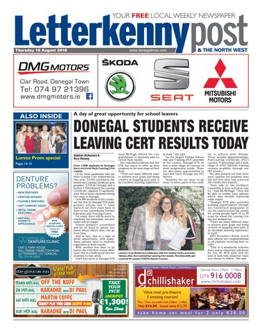 Letterkenny Post 16 August 2018 By River Media Newspapers Issuu