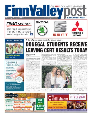 Finn Valley Post - 16 August 2018 by River Media Newspapers