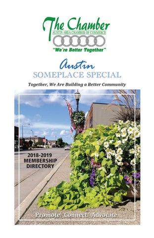 Austin, Minnesota Area Chamber of Commerce • 2018-19 Membership Directory