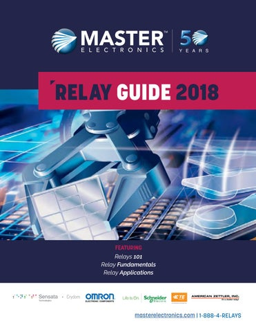 Master Electronics Relay Guide 2018 by Master Electronics