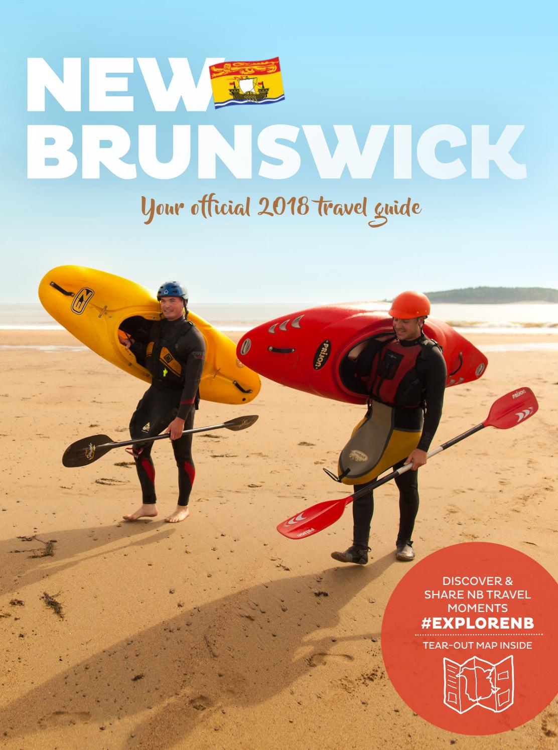 7a2a8d2a93 OFFICIAL 2018 NEW BRUNSWICK TRAVEL GUIDE by Official New Brunswick ...