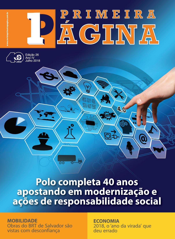 Revista Edição 26 by Primeira Página Revista - issuu 16e2d5c9d414a