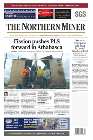 151 Quantum Rare Earth Developments Corp Reports Significant Update To Resource Estimate At The Elk Creek Niobium Deposit Nebraska >> The Northern Miner August 20 2018 Issue By The Northern