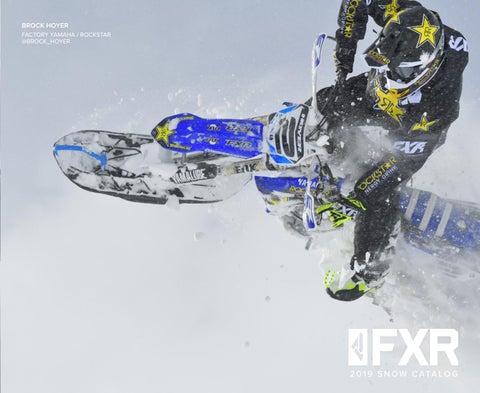 ba87ea297829 FXR 2019 Snow Catalog Canada by FXR Racing - issuu