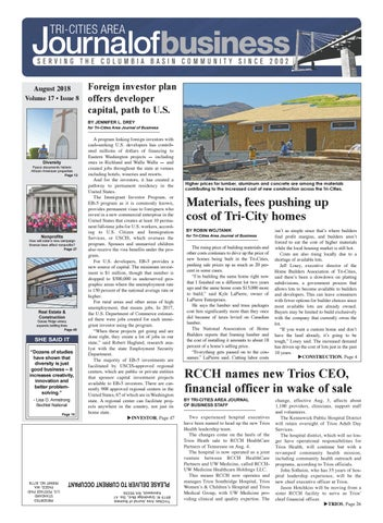 Tri Cities Area Journal Of Business August 2018 By Tri Cities
