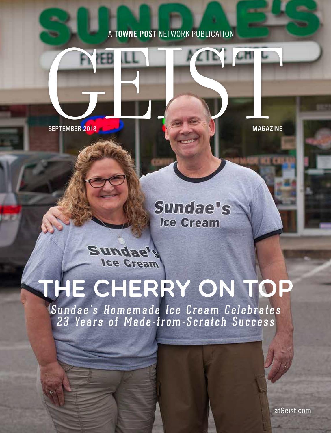 Geist Magazine September 2018 By Towne Post Network Inc Issuu