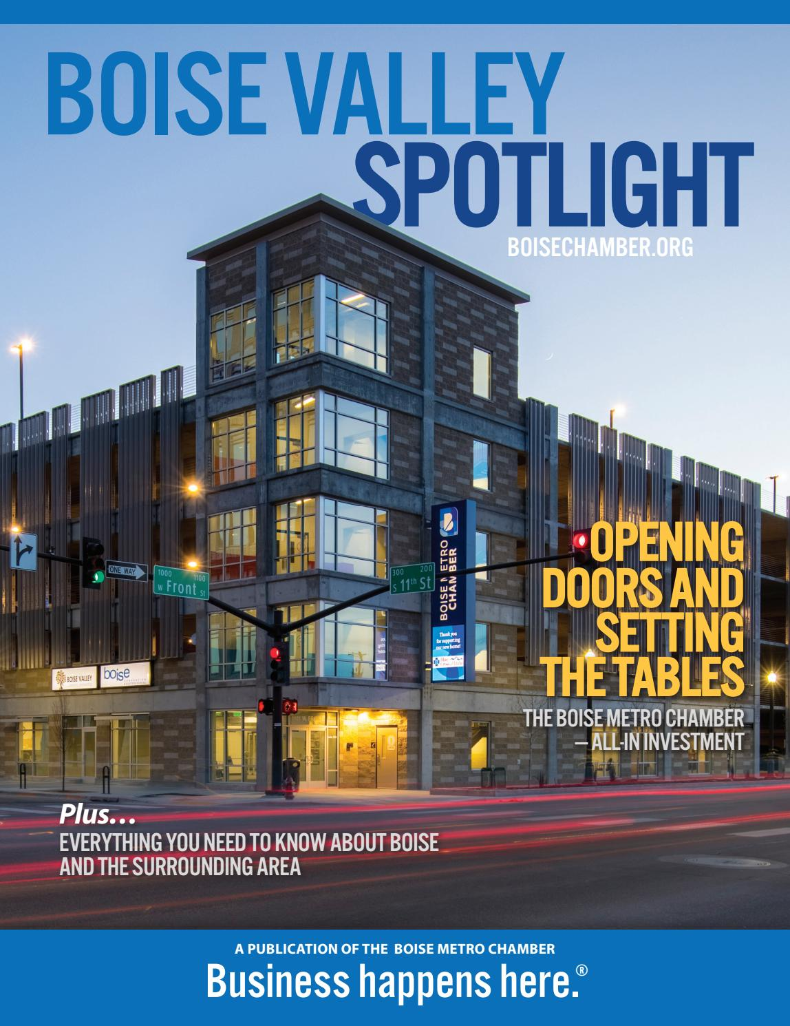 Boise Valley Spotlight 2018 2019 By Idaho Statesman Issuu