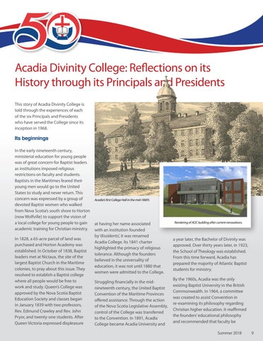 Page 9 of ADC Historical Overview