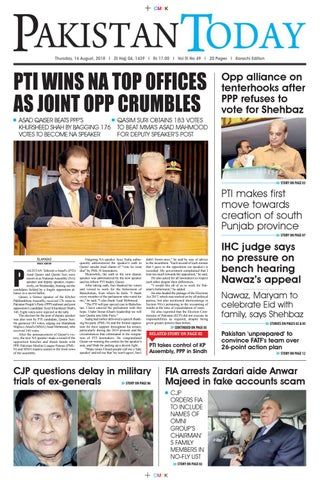 E-Paper PDF 16 August 2018 (KHI) by Pakistan Today - issuu