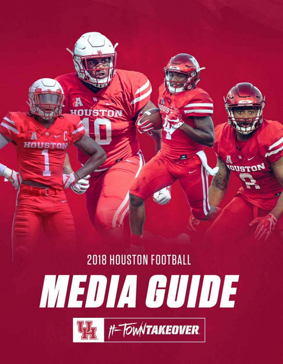 2018 Houston Football Media Guide by David Bassity - issuu
