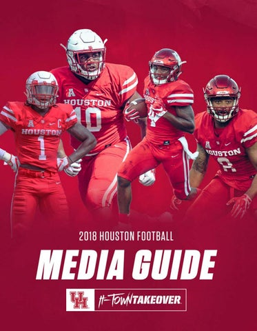 6313b0dffd9 2018 Houston Football Media Guide by David Bassity - issuu