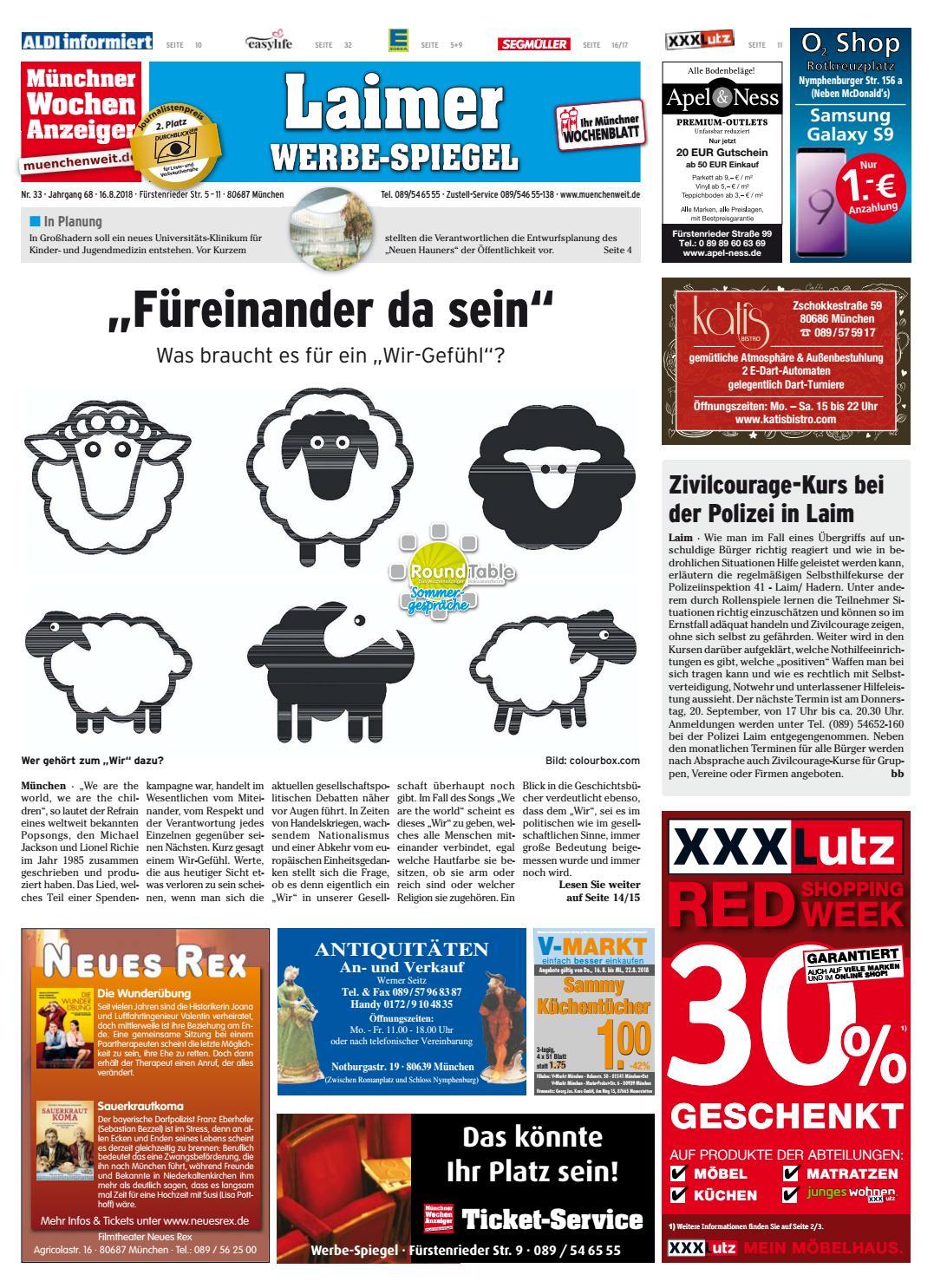 KW 33-2018 by Wochenanzeiger Medien GmbH - issuu