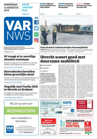 7f6e0f13f76 VARnws Leidsche Rijn 16 augustus 2018 by VARnws - issuu