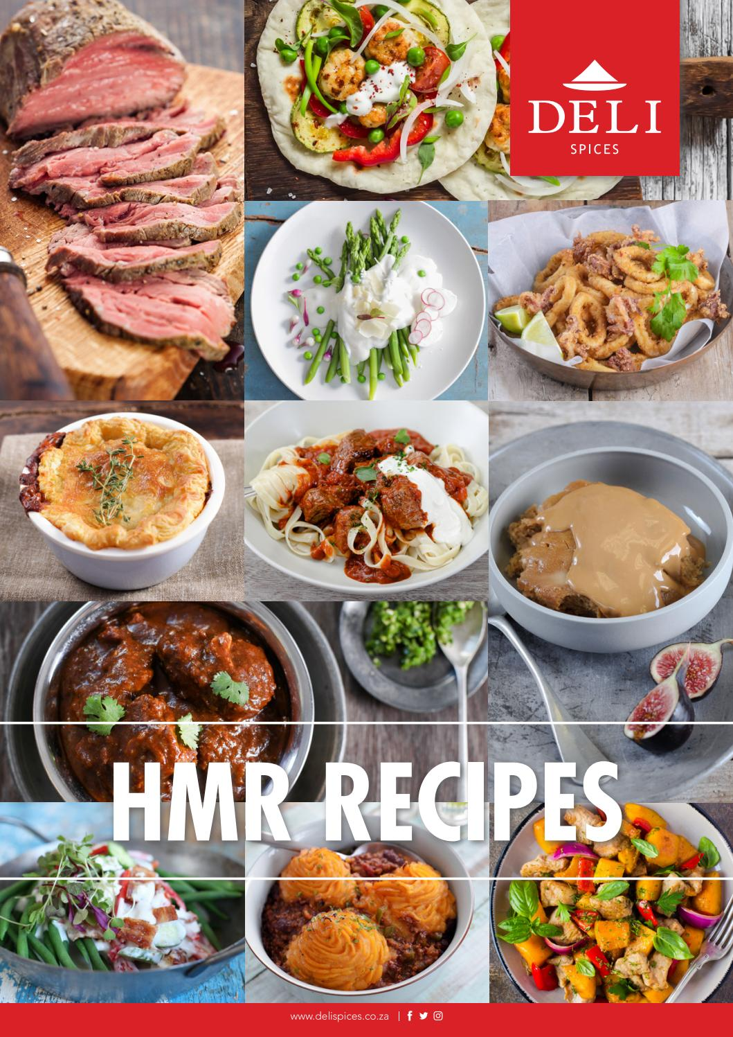 Hmr Recipes By Deli Spices Issuu