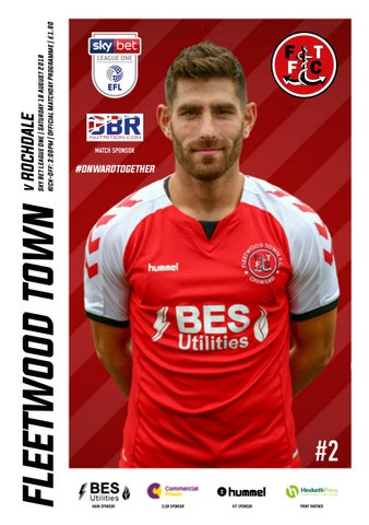 Fleetwood Town v Rochdale | Saturday 18 August 2018 | Sky Bet League One
