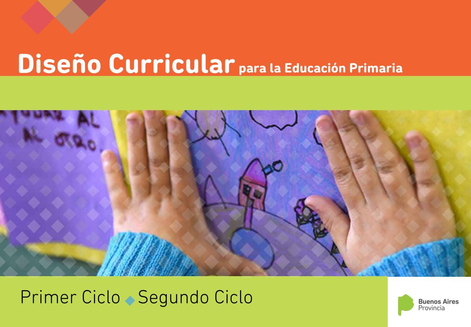 Diseño Curricular Para La Educación Primaria By Leareta80
