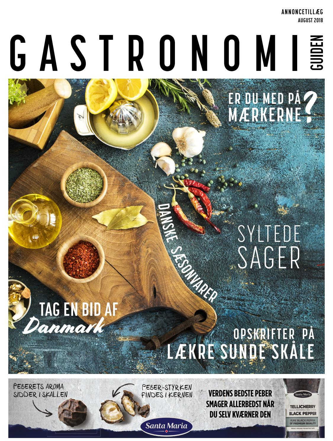 429bac82f8f Gastronomi Guide 2018, August 2018