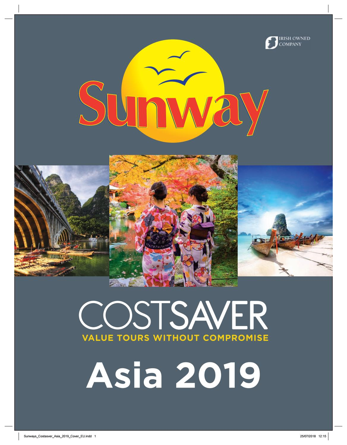 02b93ea19 Costsaver Escorted Tours Asia 2019 operated by Trafalgar. from Sunway  Travel Group. Read issue here